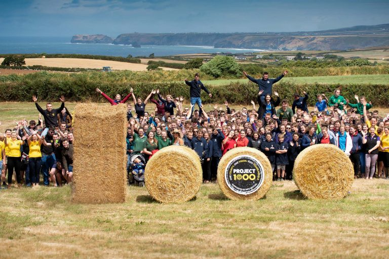 Cornish Young Farmers launch Project 1000