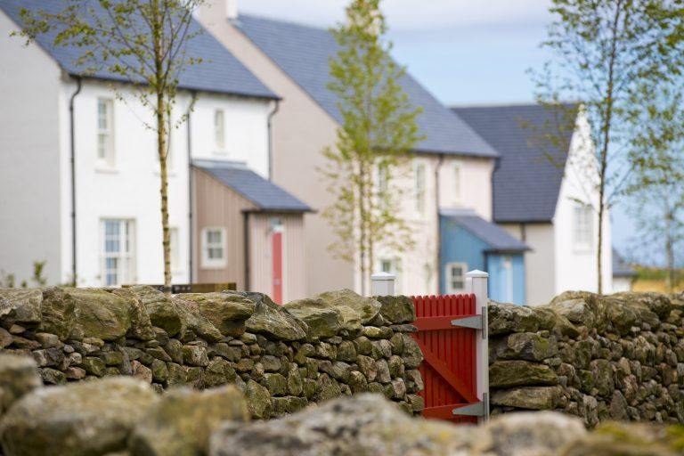 Photograph of homes on Greenlaw Road, Chapelton